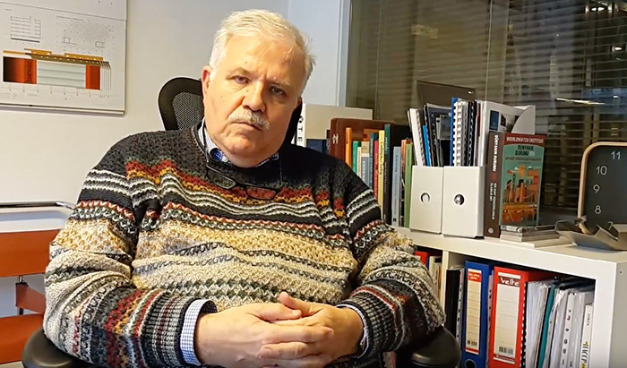 Servogas Şirket Başkanı Doç. Dr. İ. Hakkı Moltay